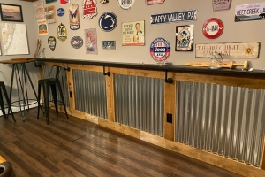 Basement Renovations and Bars