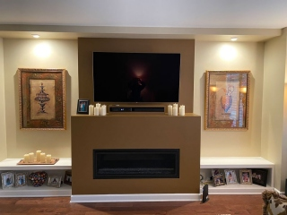Fireplace and Mantels